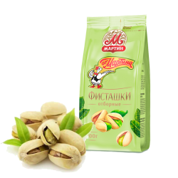 Pistachios FRIED UNPEELED 100gr/20pc