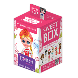 """Sweet Box"" Cool  Girl  10gr/10pc"
