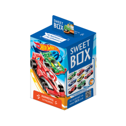 """Sweet Box""  HOT WHEELS 10gr/10pc"