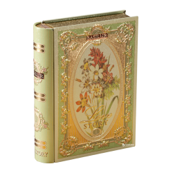 "Tea Book ""Love story Volume #1"" Green tea (metal box) 100gr/6pc"
