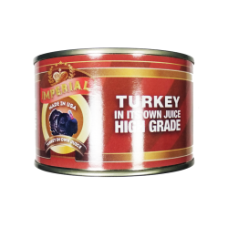 Turkey Tushonka  400gr/12pc