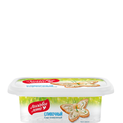 "PROCESSED CHEESE ""LASKOVOE LETO"" 45% CUPS 170G/12"