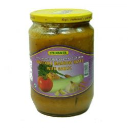 Vegetable Marrow Paste With Garlic  720gr/6pc