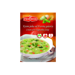 Vegetables Soup  45gr/19pc