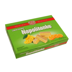 Wafers Lemon-Orange  330gr/12pc