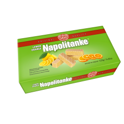 Wafers Lemon-Orange  420gr/12pc