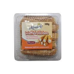 Waffle Rolls With Vanilla  300gr/12pc
