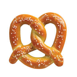 Soft pretzel w/salt 100gr/30pc