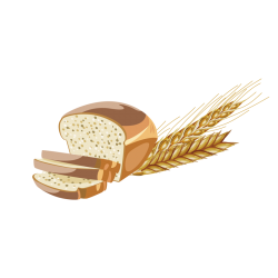 Wheat mixed bread 750gr/15pc