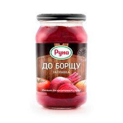 "Zapravka for Borsch ""Runa"" Glass  470ml/12pc"